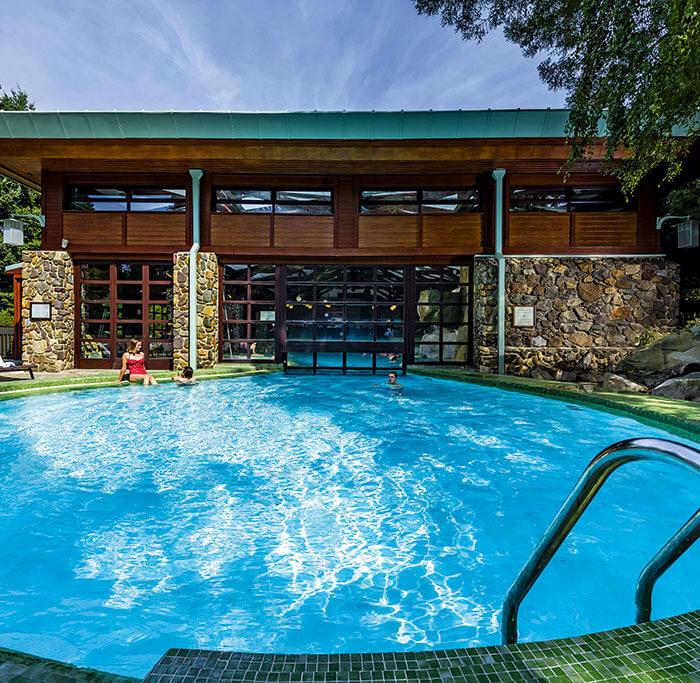 The pool at Disney's Sequoia Lodge